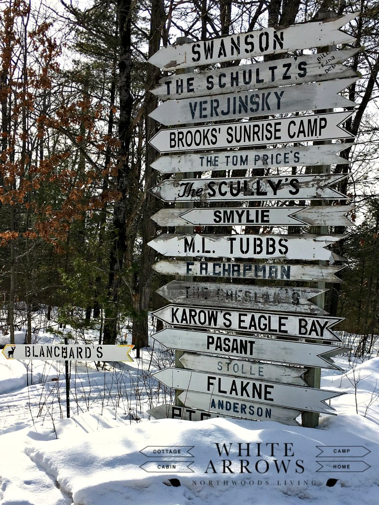 White-Arrows-Signs-Northwoods