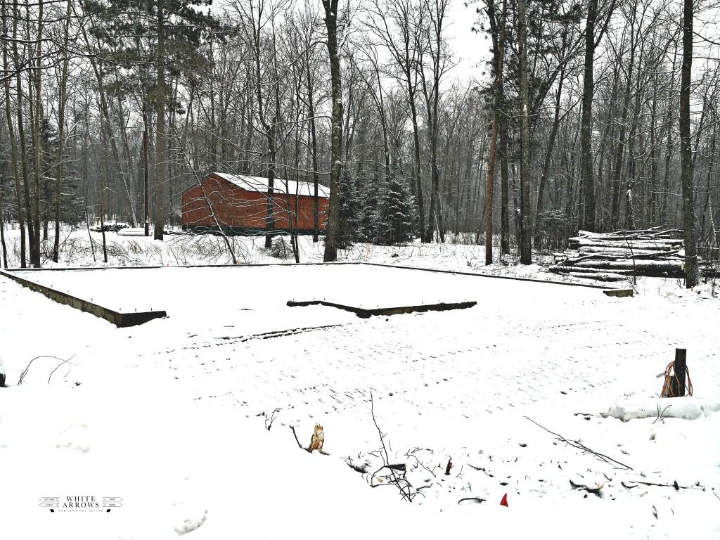 breaking ground, guest house, garage