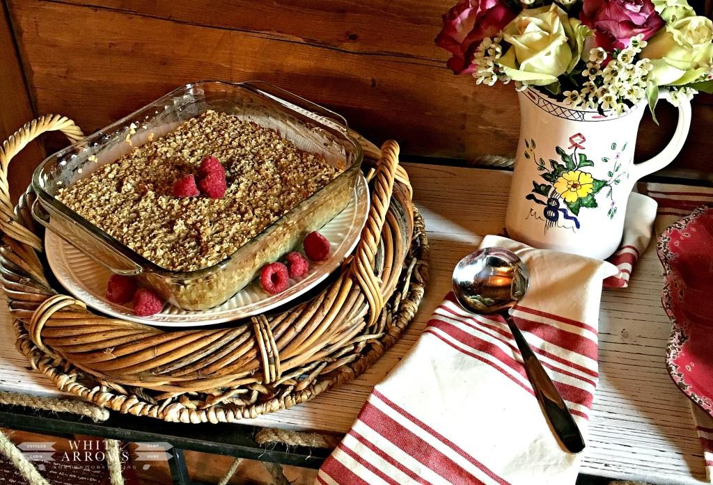 Baked Oatmeal, Brunch, Berries