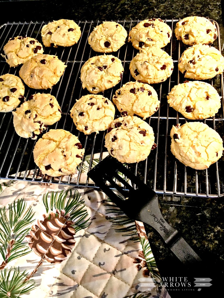 Cake Box Cookies, Chocolate Chip Cookies