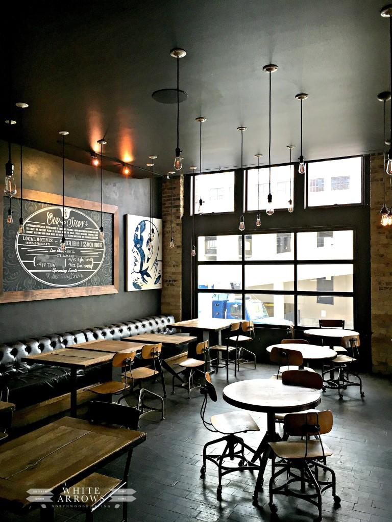 Ironhorse Hotel, Bar, Industrial Design, Milwaukee