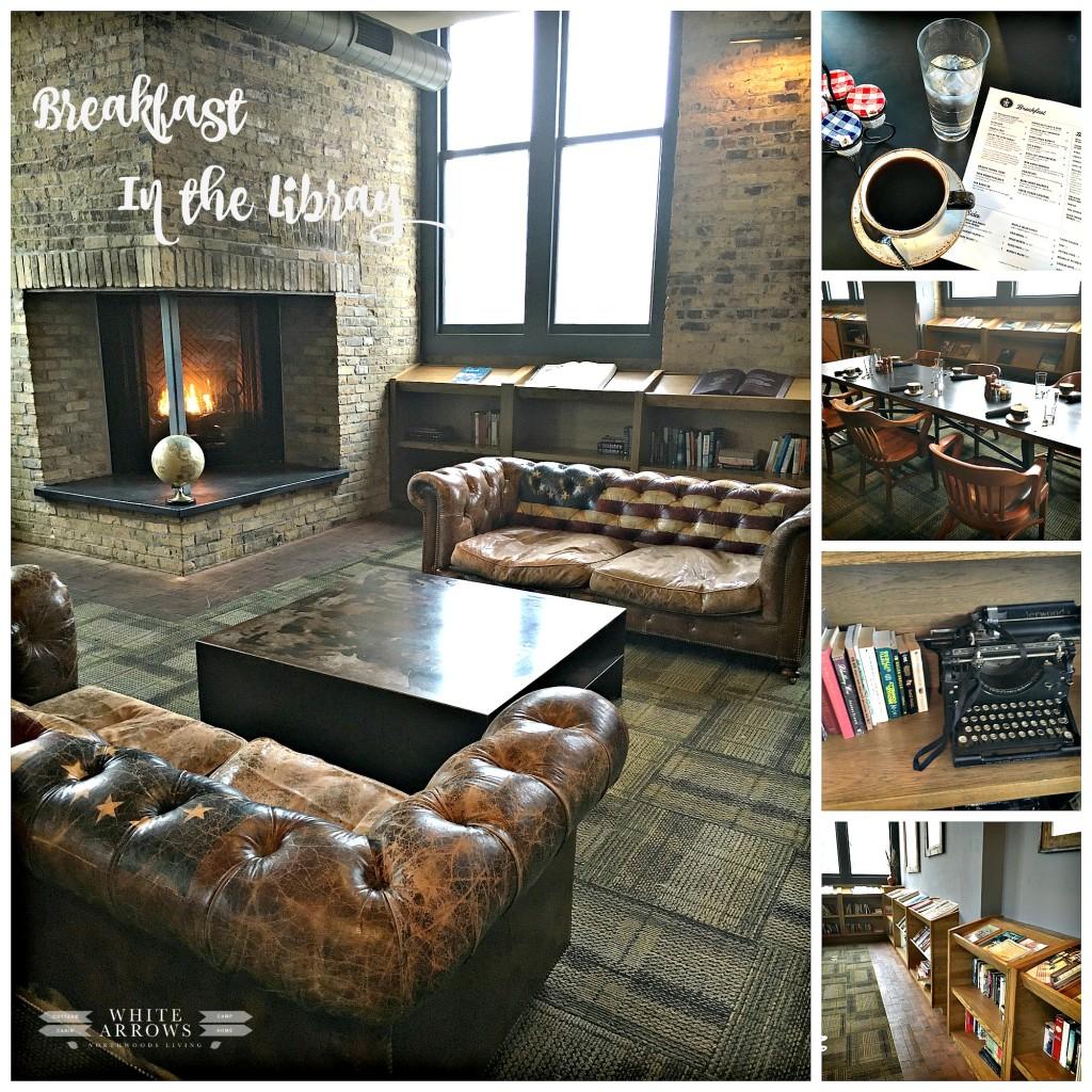 Library, Ironhorse Hotel, Industrial Design, Milwaukee