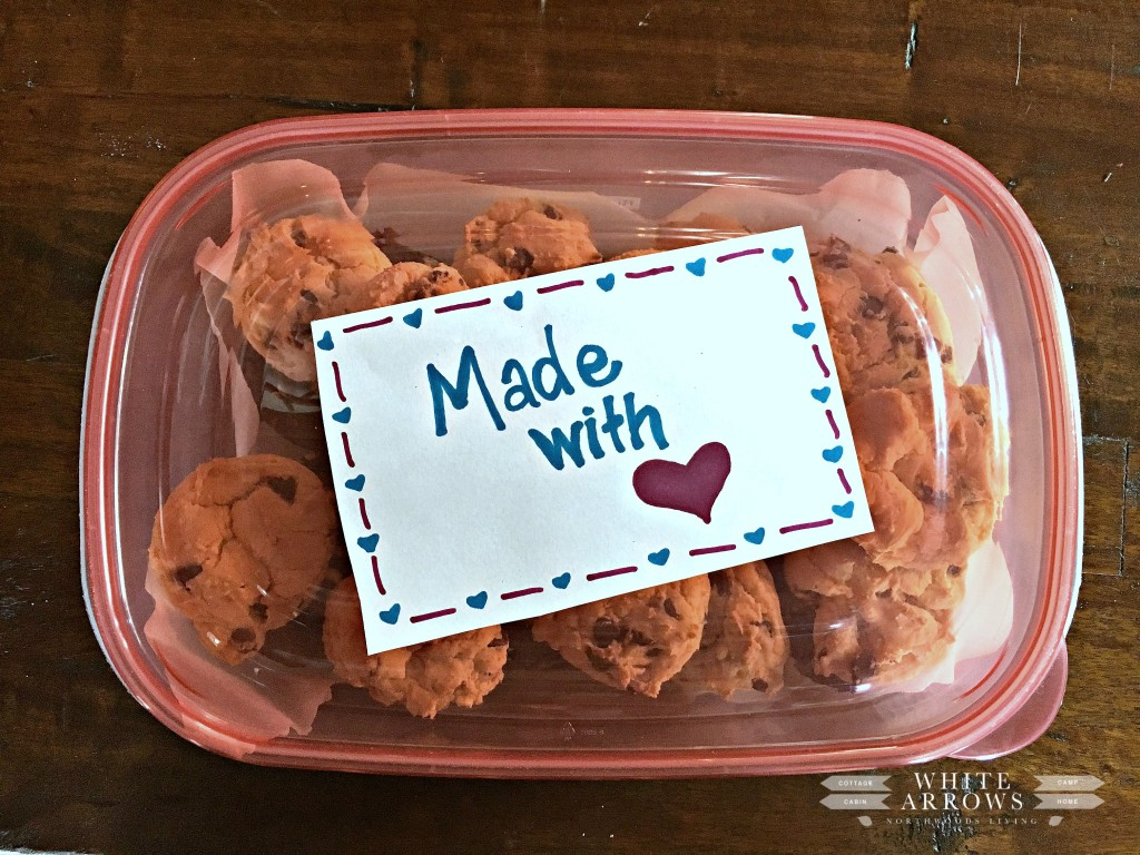 Cake Box Cookies, Care Package