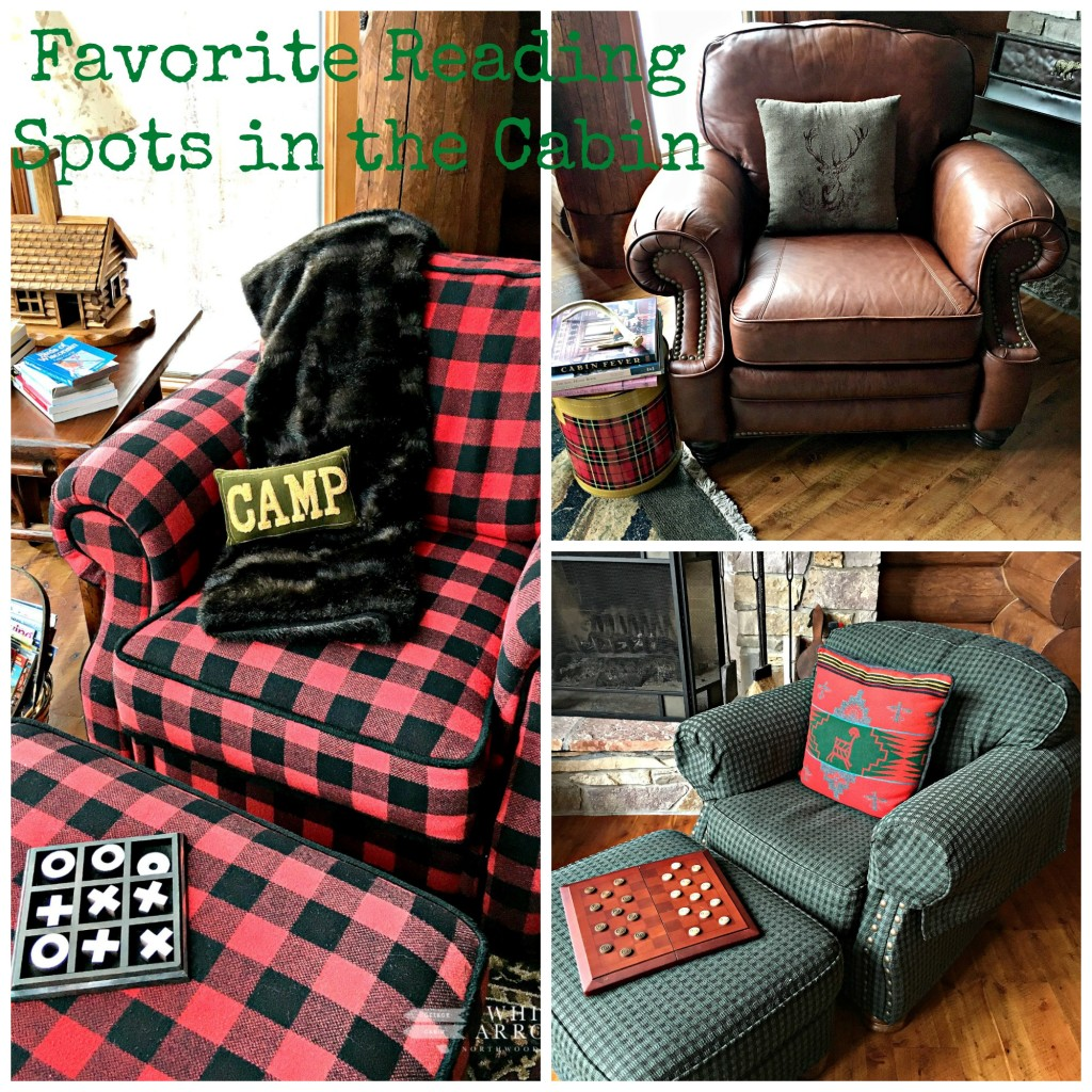 Favorite Reading Chairs, Cabin