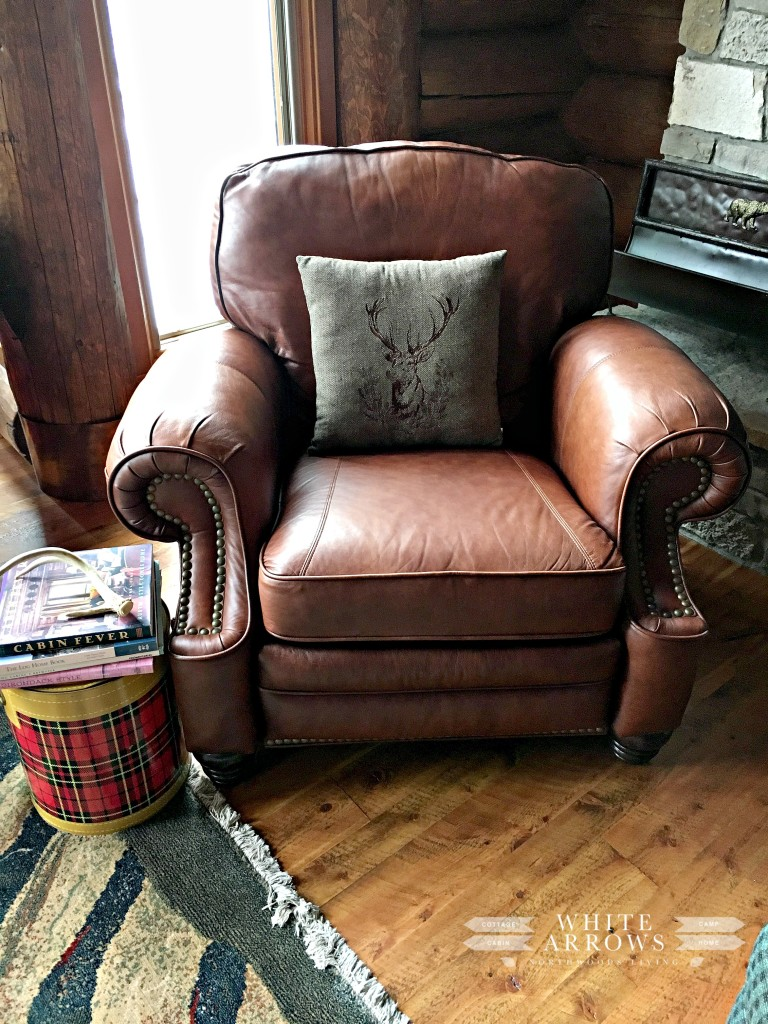 Leather Recliner, Plaid Thermos