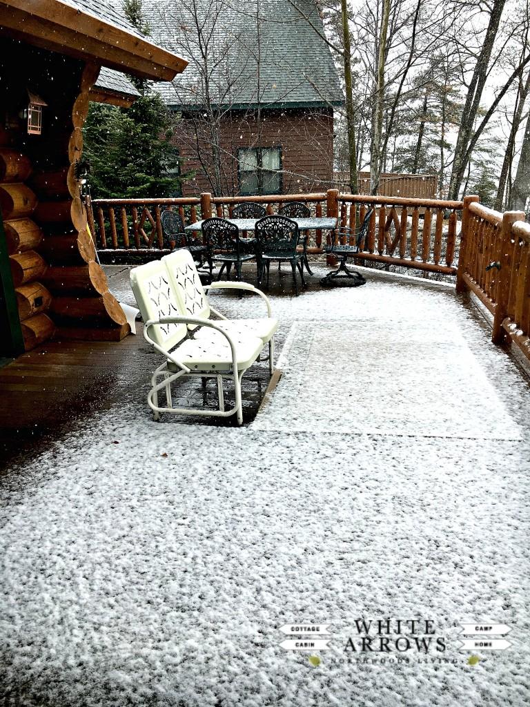 April Fool's Day Snow