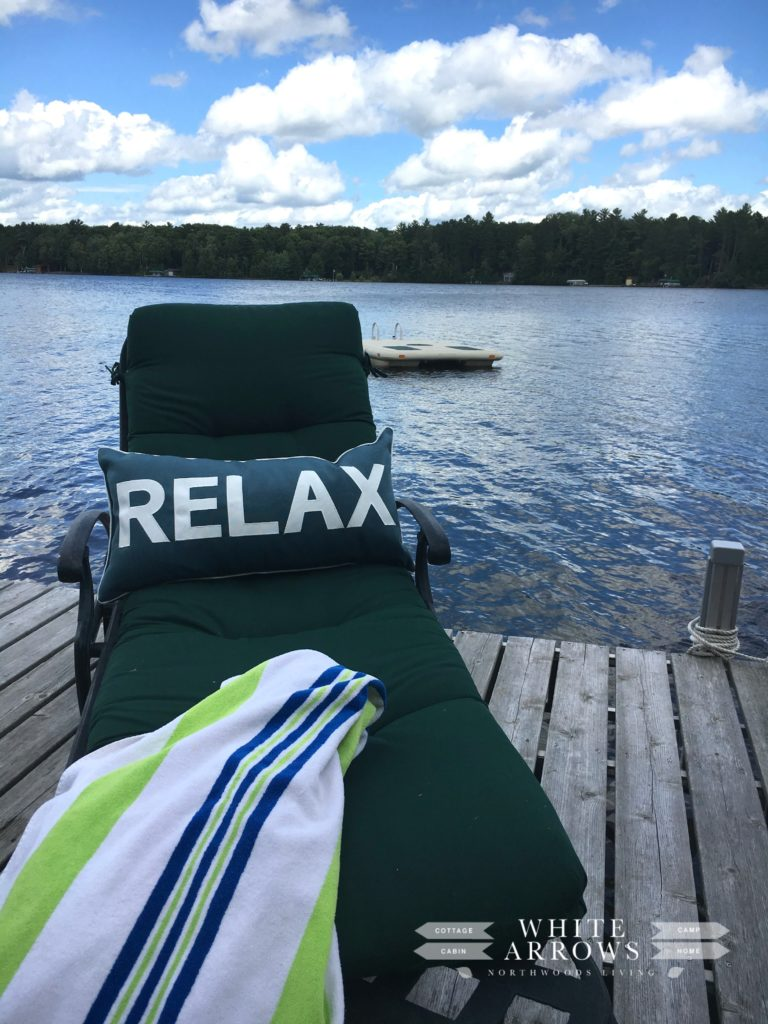 lake house, lake vacation, Minocqua, dock