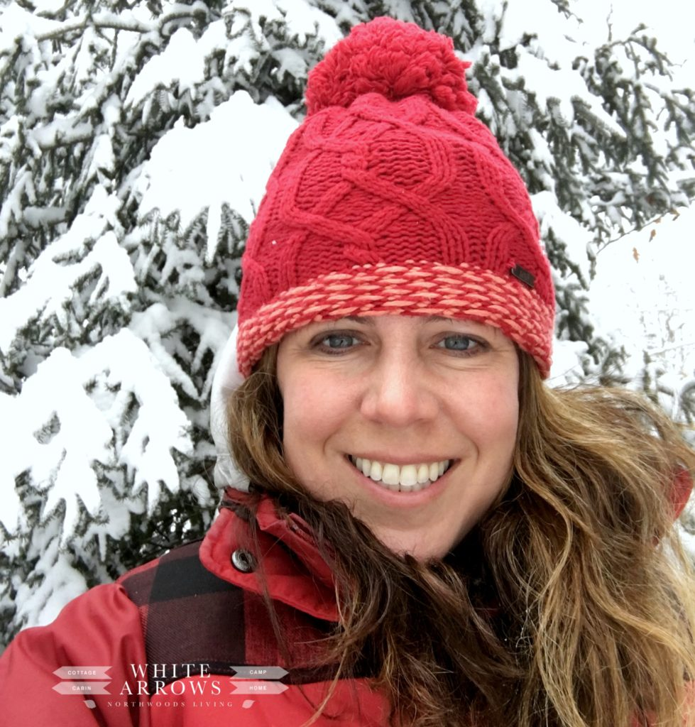 Winter Selfie in the Snow
