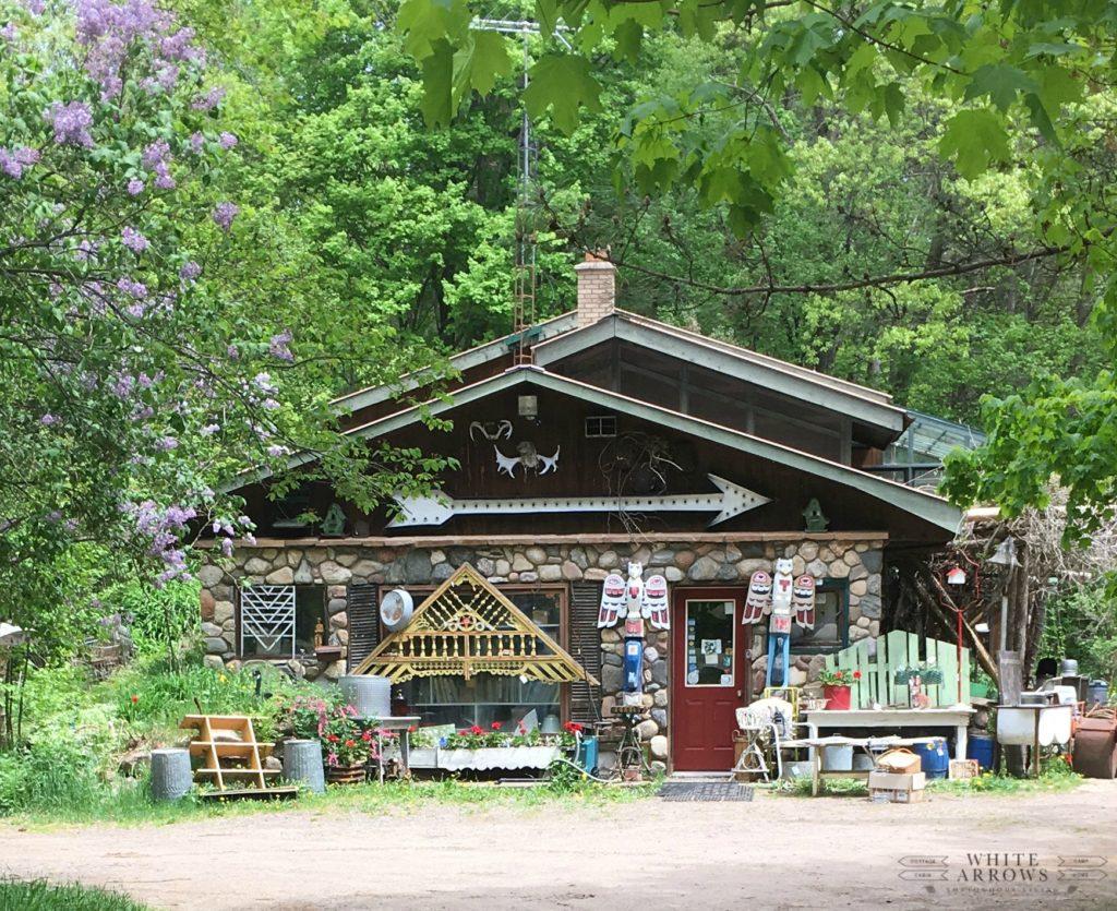 Antique Shop, Minocqua, Perennials, Northwoods