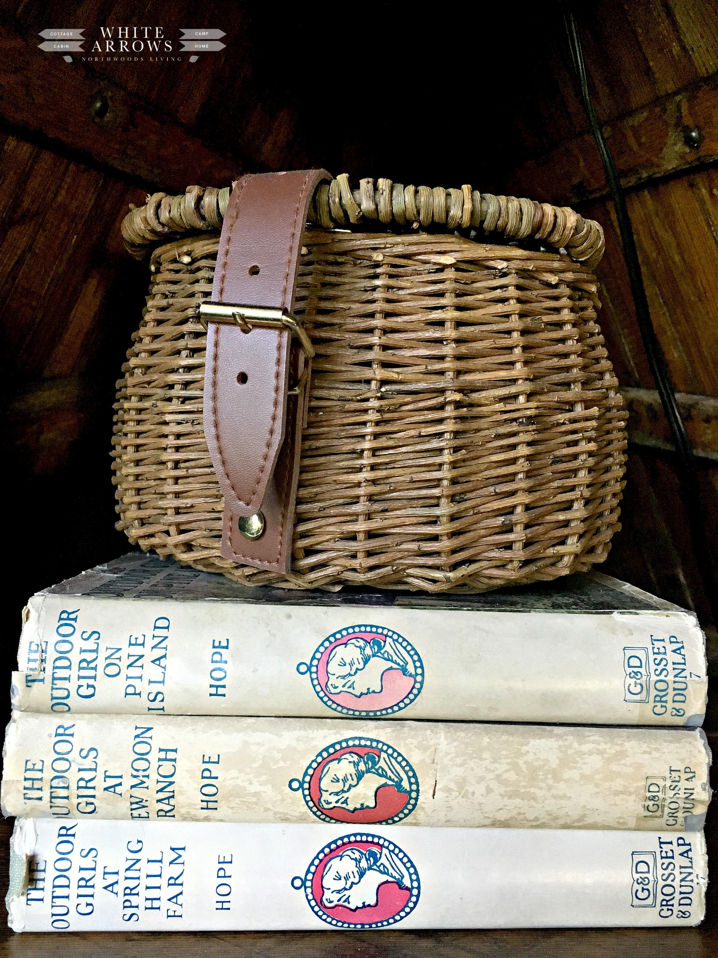 vintage books, The Outdoor Girls, vintage, old books