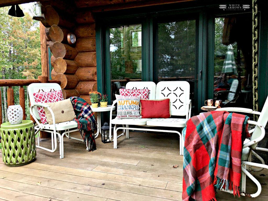 Autumn Decor, Fall Decor, Outdoor Decor, Throw Pillows, Garden Stool
