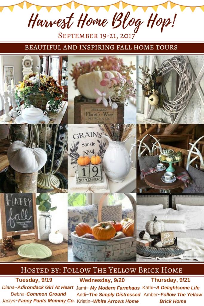 Home Decor, Blog Hop, Harvest Home, Autumn Decor, Fall Decor, Blog Tour, Bloggers