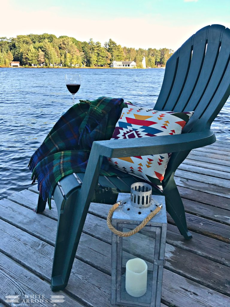 Lake House, Wine on the Dock