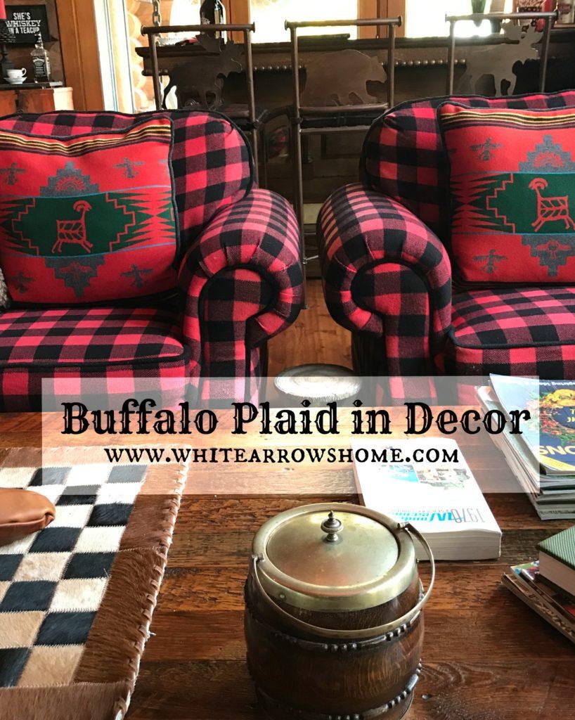 Buffalo Plaid, Cabin Decor, Log Cabin, Cabin Style, Buffalo Check, Cabin Decor, Cottage Decor, Lake House