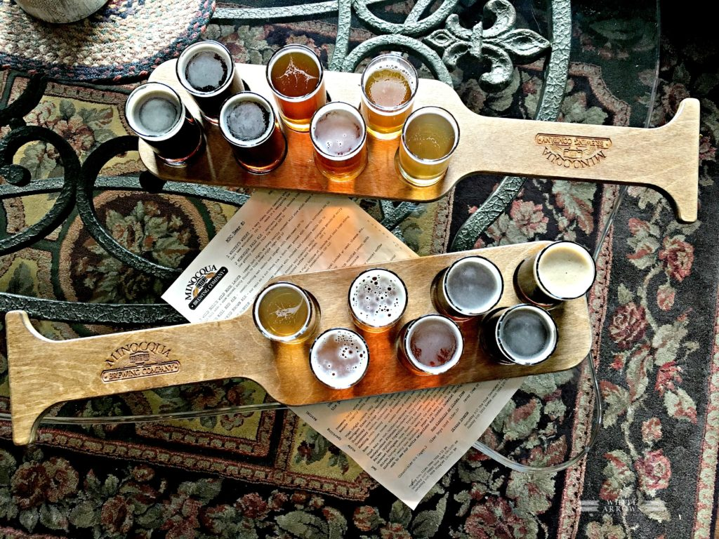Minocqua Brewing Company, Beer Flight, Craft Brew, Beer Paddle