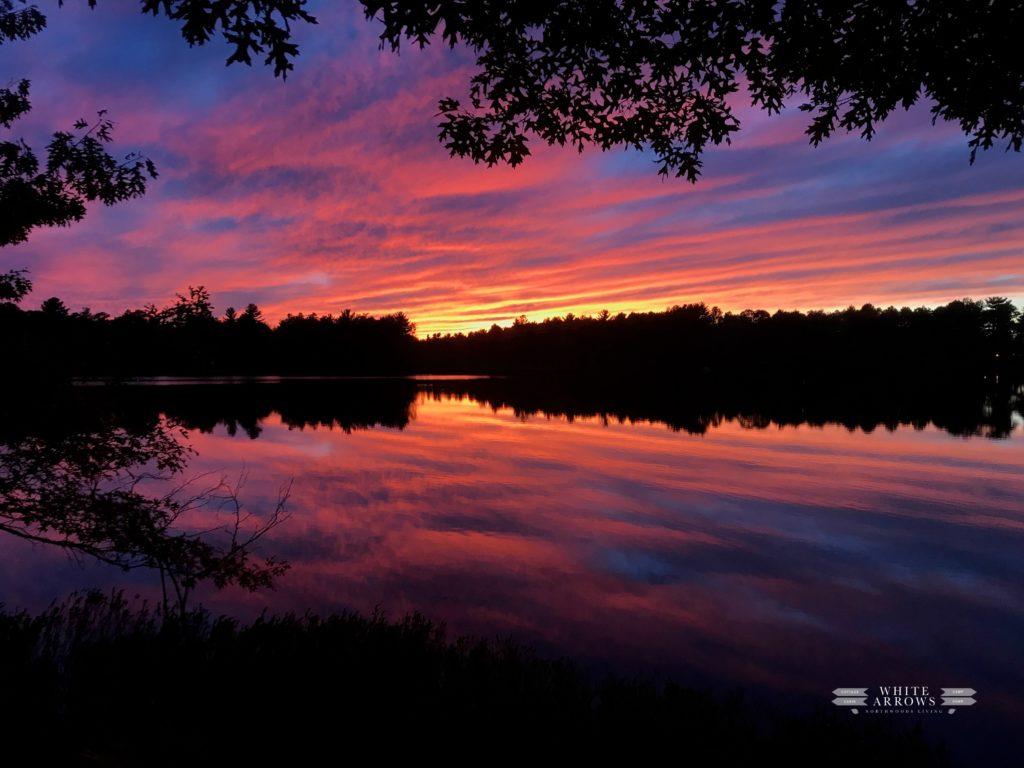Sunset, Lake, Minocqua, Family Vacation, Lake Sunset, Northwoods, Lake Life