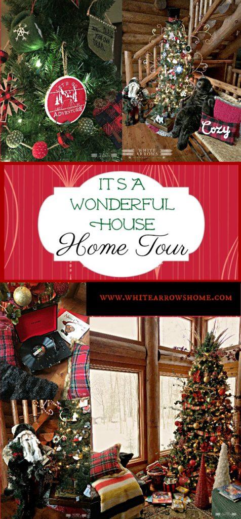 Christmas Blog Hop, Blog Hop, Home Tour, Christmas Home Tour, Holiday Tour, Holiday Blog Hop, Holiday Home Tour, BLooger, Christmas, Christmas Decor, Holiday Decor, Christmas Tree, Rustic Decor, Cabin