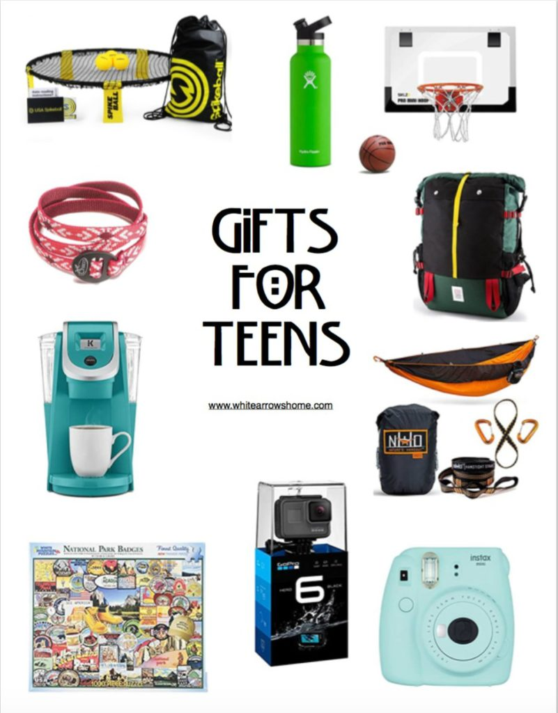Holiday Gifts for Teens
