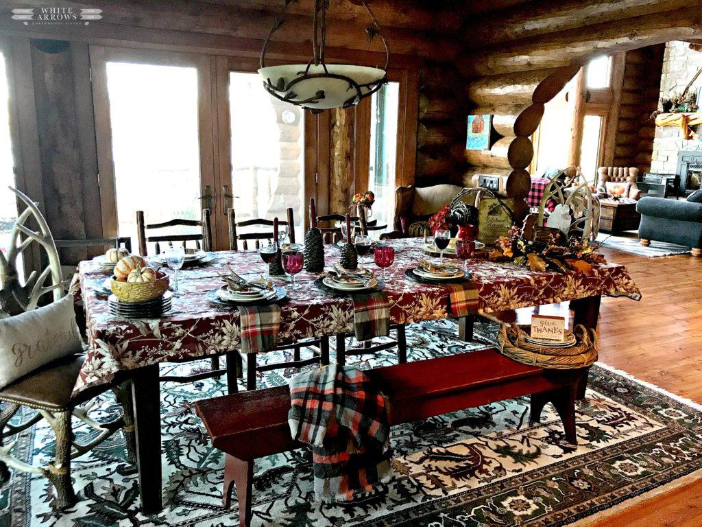 Rustic Decor, Antique, Pier One Fox, Fall Decor, Autumn Decor, Thanksgiving Decor, Thanksgiving Table, Thanksgiving Tablescape