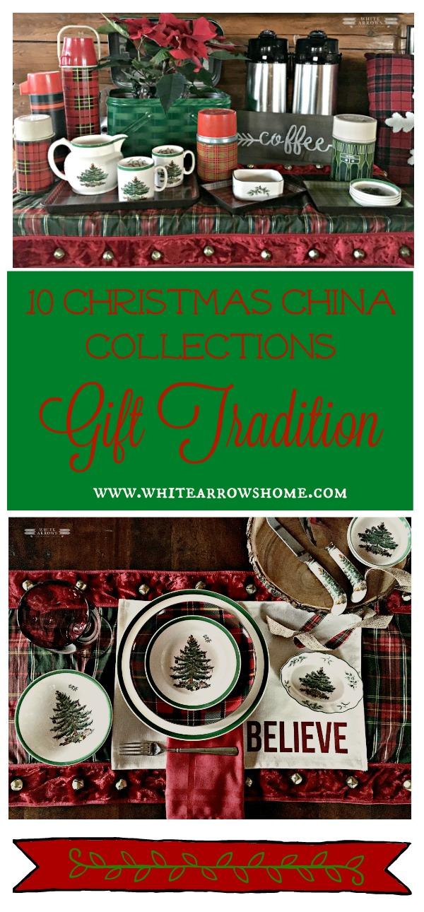 Christmas Gift Tradition, Holiday China, Spode Christmas Tree, Christmas dishes, Spode, Holiday dishes