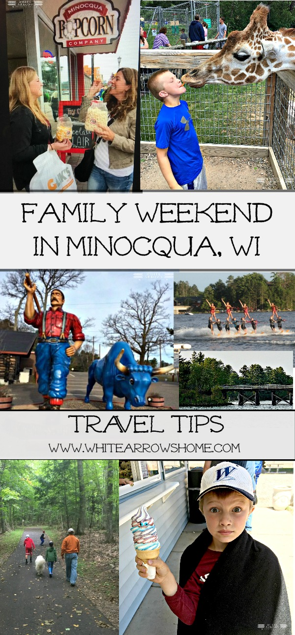 Family Vacation- Weekend in Minocqua