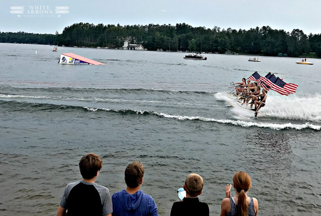 Minocqua, Minocqua Bats Water Ski Show