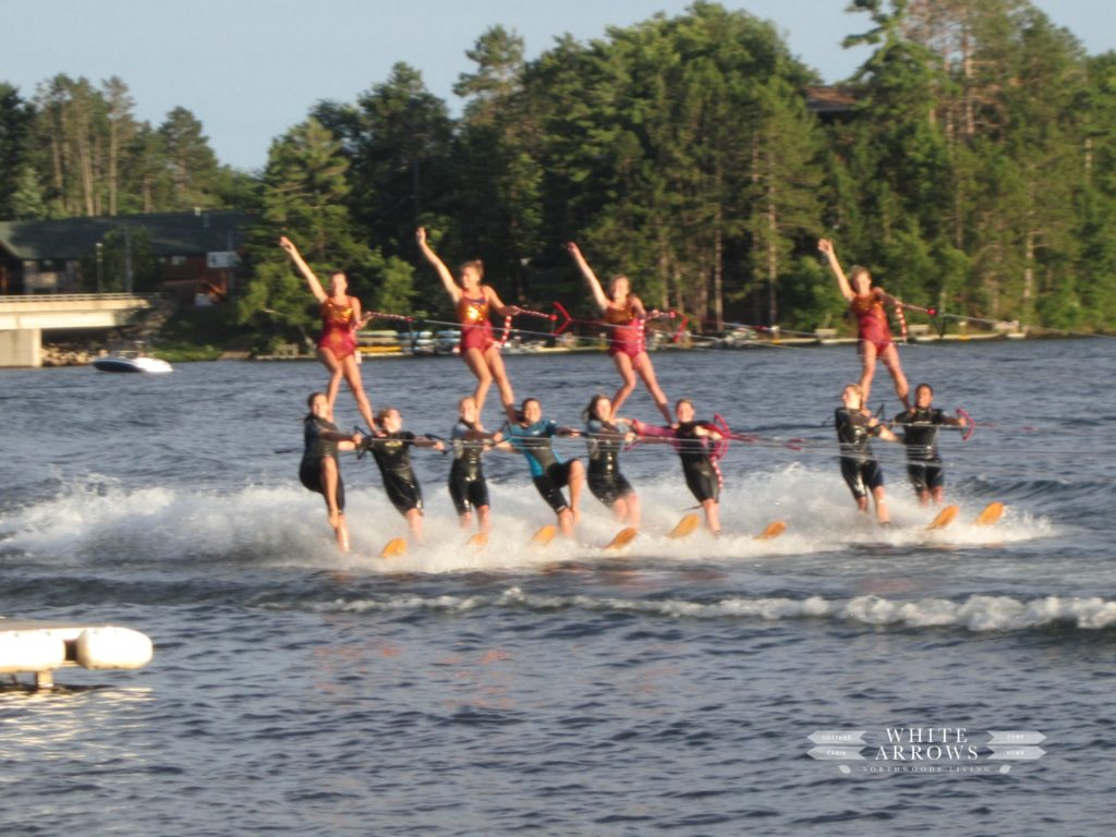 Minocqua Bats, Minocqua, Water Ski Show