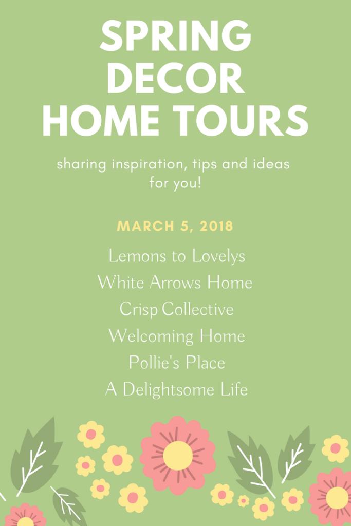 Spring Decor Inspiration Blog Hop