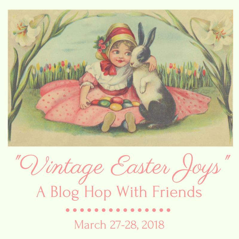 Vintage, Vintage Easter, Vintage Spring, Blog Hop, Spring House Tour, Spring Blog Tour