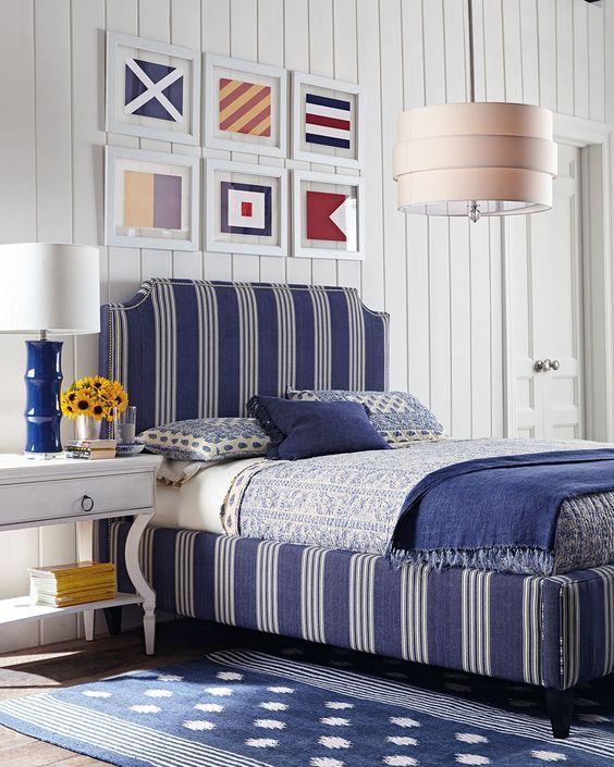 Nautical Decor, Blue and White Decor, Lake House Decor, Coastal Decor