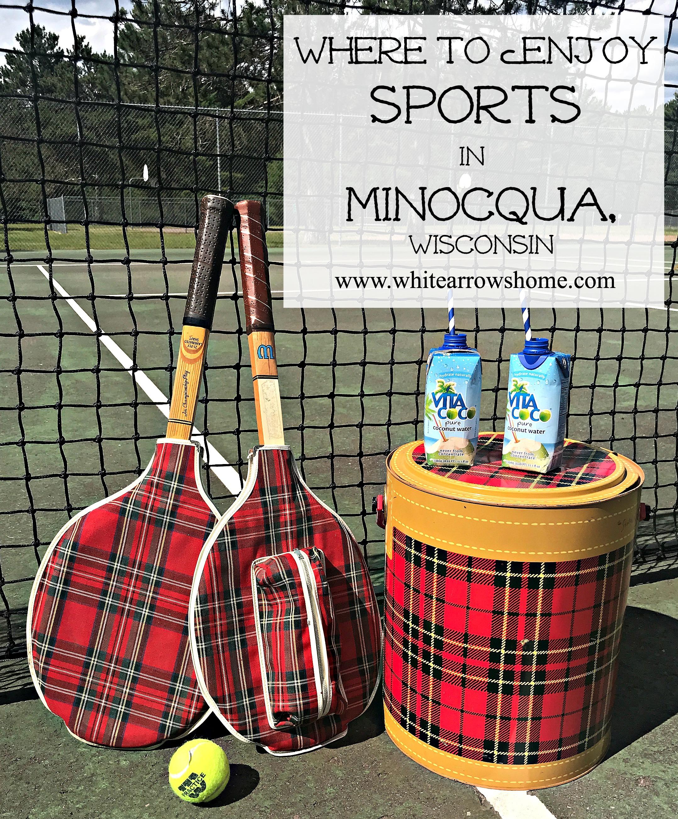 Vintage Tennis, Minocqua, Scotch Cooler, Sports, Visit Minocqua