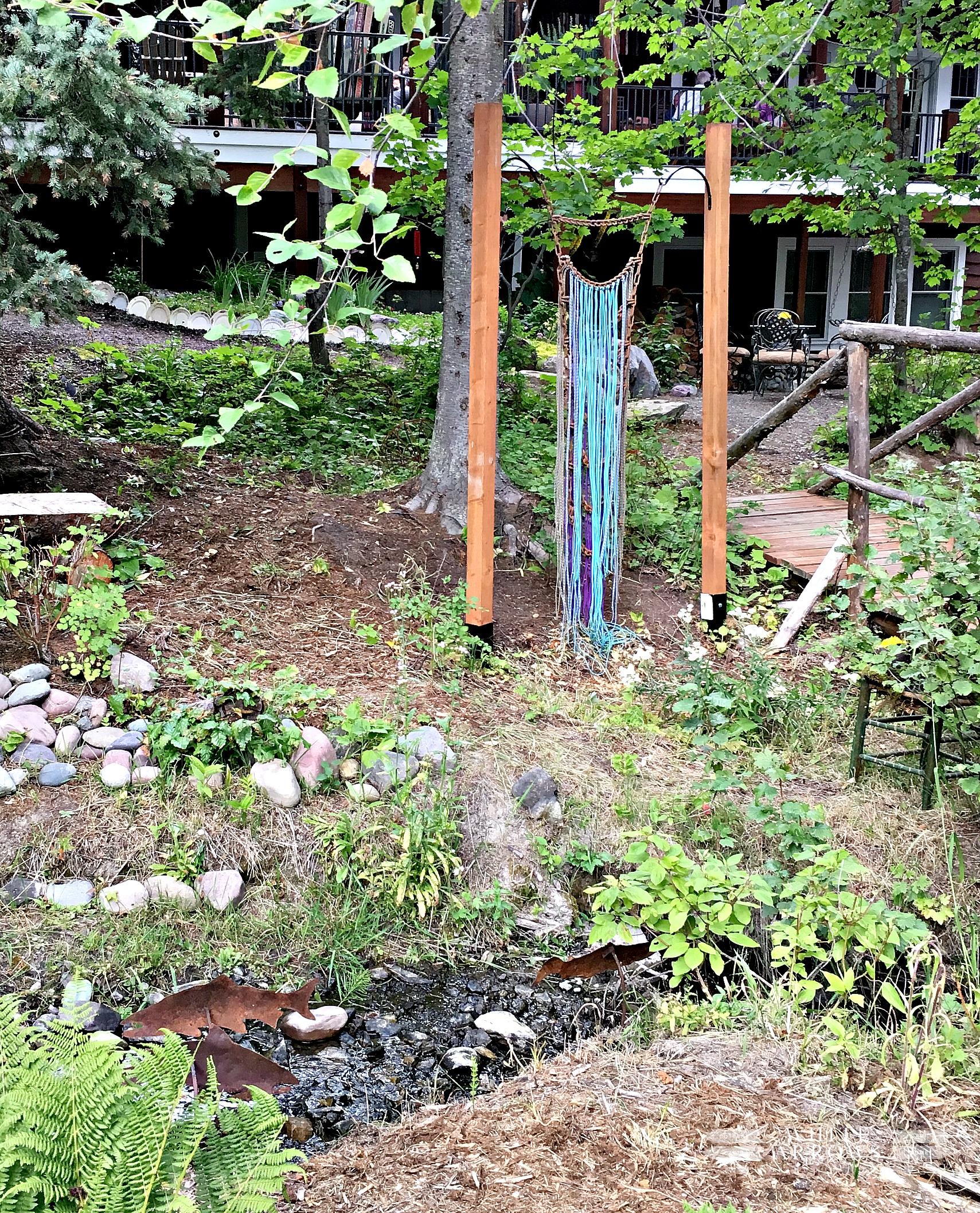 Vintage Garden, Montana, Garden Art