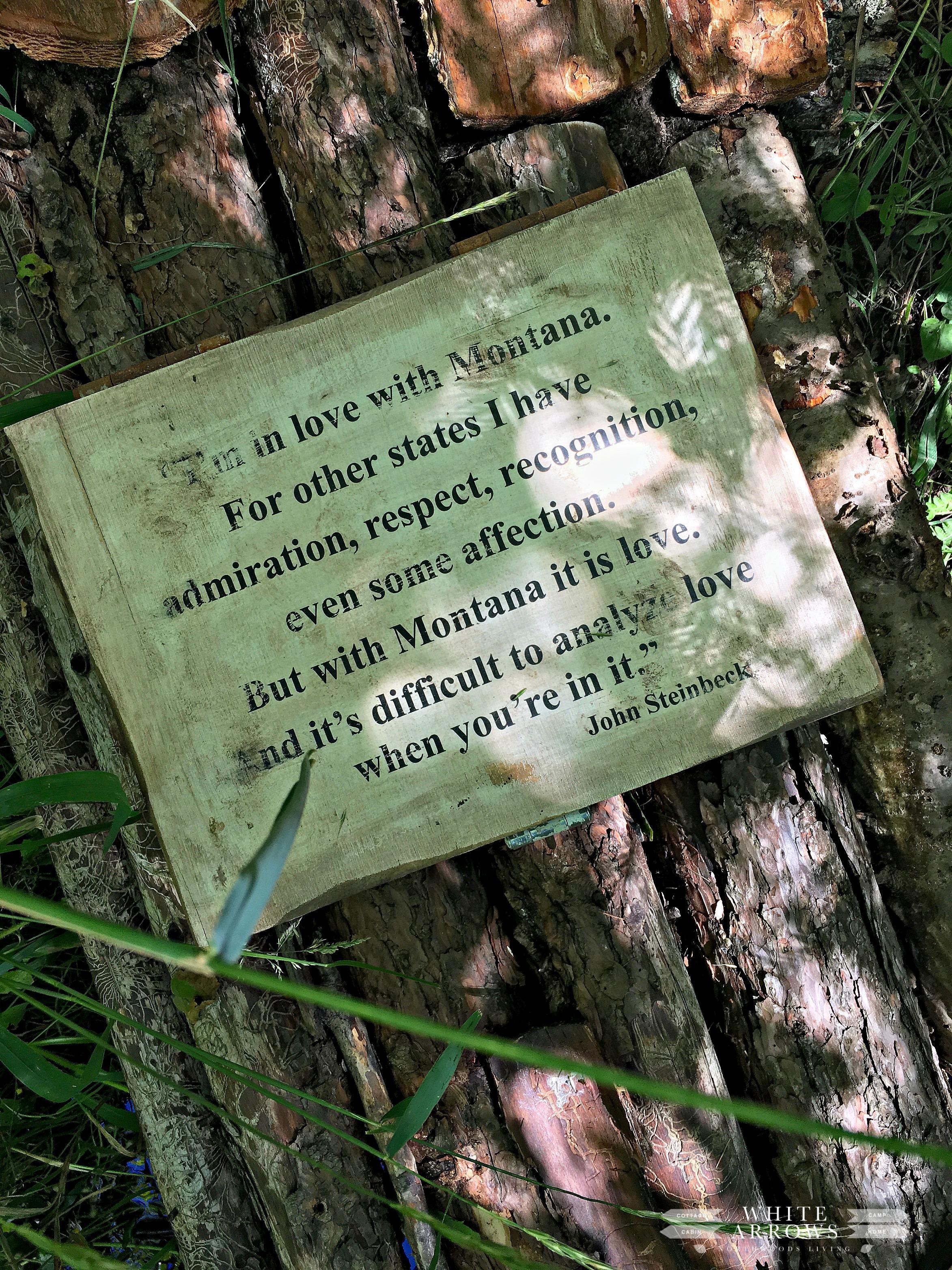 intage Garden, Montana, Steinbeck