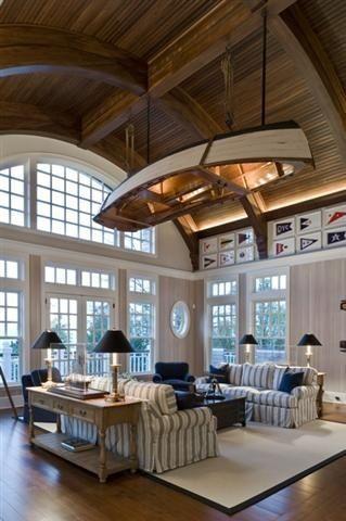 Nautical Decor, Red White and Blue Decor, Lake House, Cottage, Coastal Decor