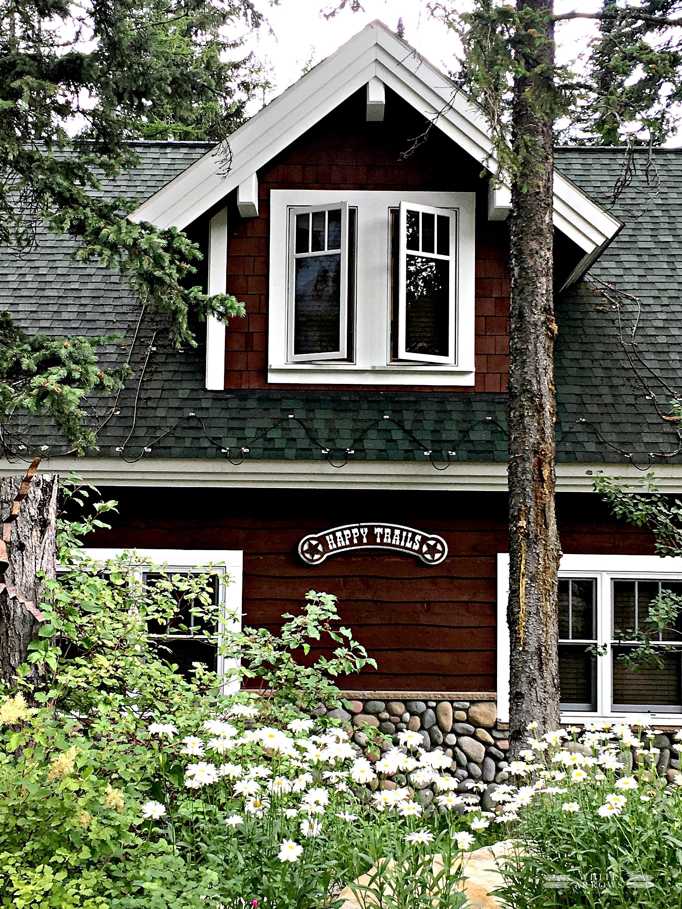 Montana, cabin, cabin living, garden