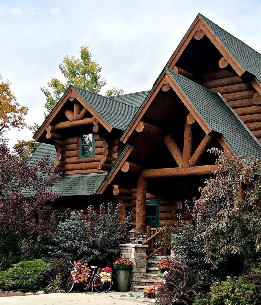 Fall Decor, Log Cabin, Cabin Living