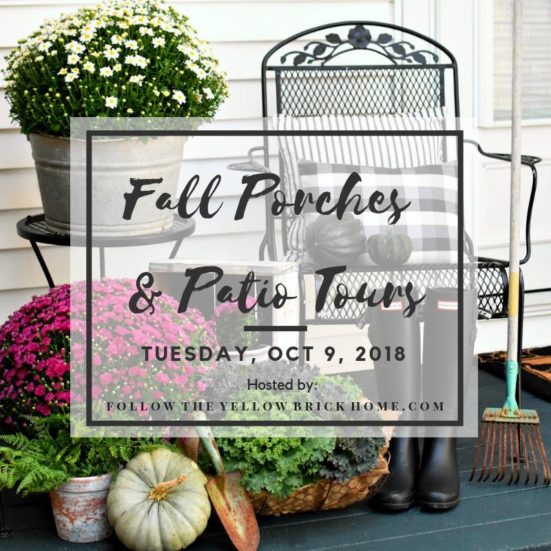 Fall Porches & Patios Tours 2018