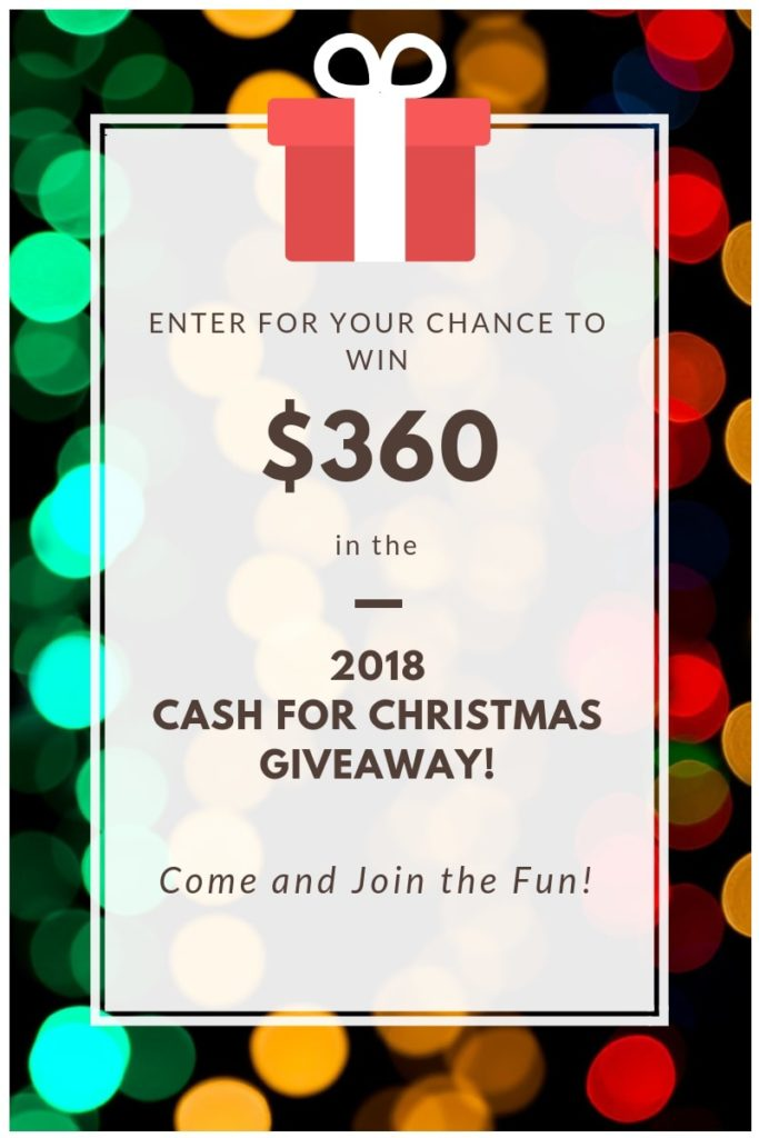 Cash for Christmas Entry 2018