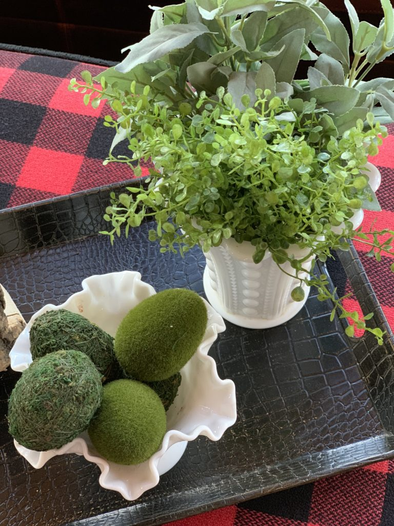 spring-decorated-tray-milk-glass-moss-egss-greenery