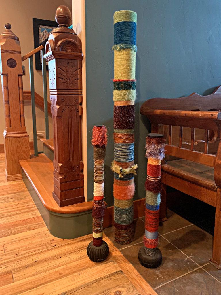 yarn-pic-pipe-poles-diy-craft-artwork-sculpture