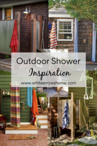 Outdoor Shower photo collage