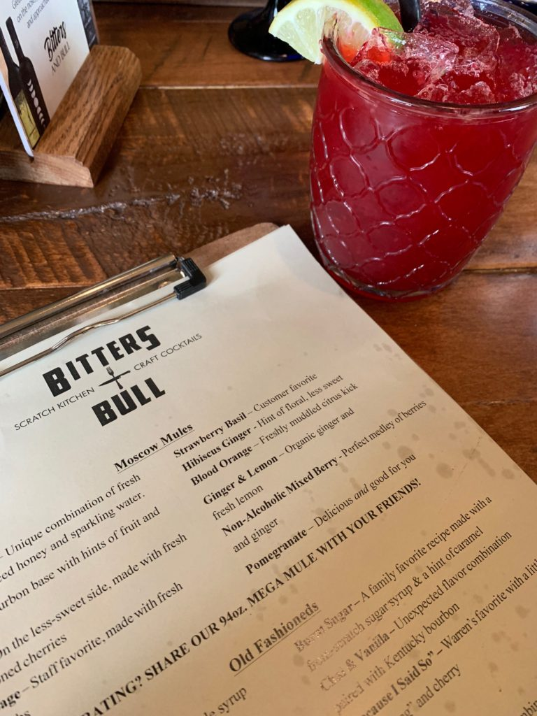 Bitters and Bull cocktails, Lake Tomahawk, Wisconsin, Minocqua