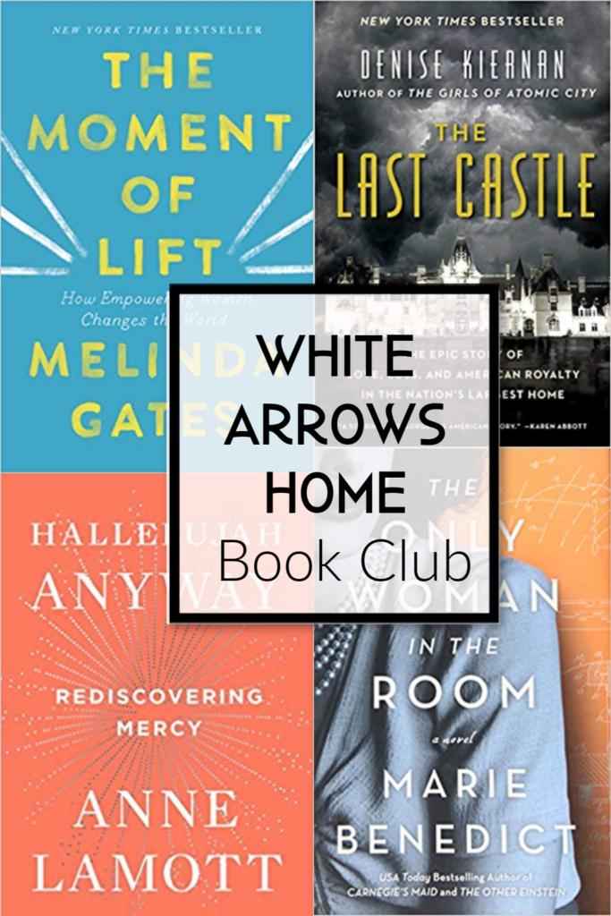 White Arrows Home Book Club Book Picks