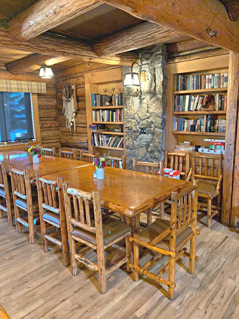 Dining Room Flathead Lake Lodge