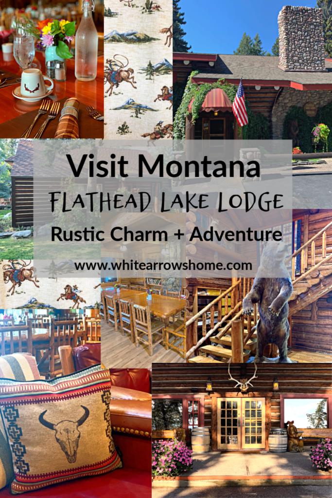 Inside Flathead Lake Lodge