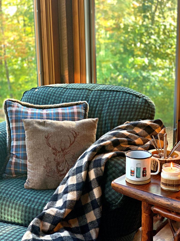 Fall Cozy Chair
