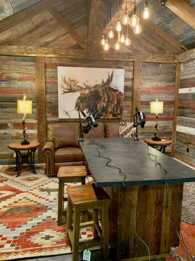 the cabincast podcast studio