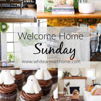 Welcome Home Sunday- Weekly Inspiration