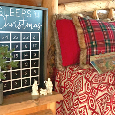 Advent Tradition Counting Sleeps Til Christmas