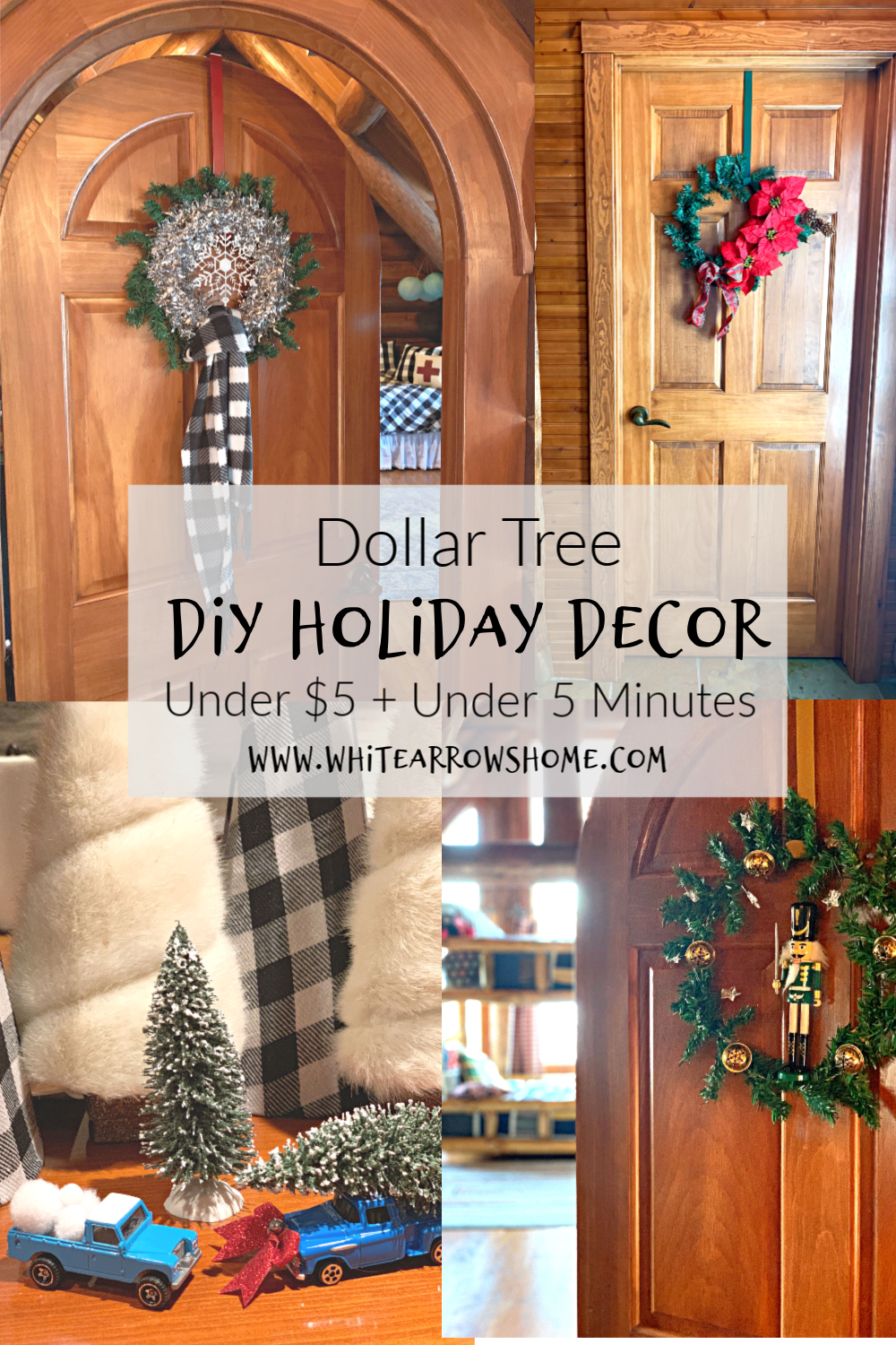 Dollar Store Holiday Crafts
